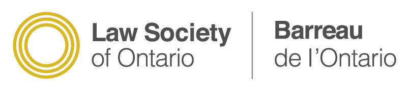Member of The Law Society of Ontario
